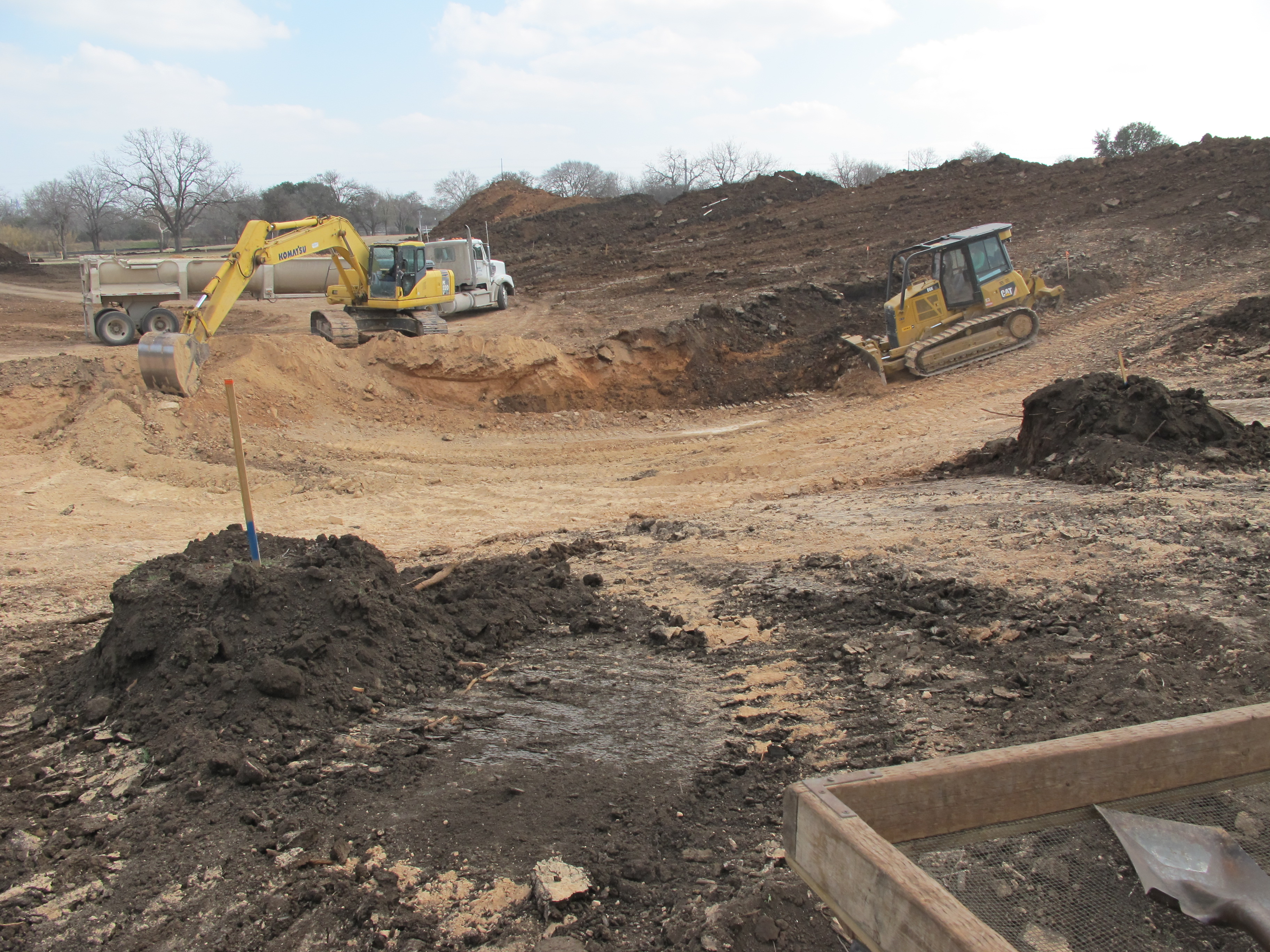 Landa Park Excavation